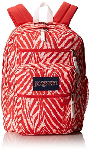 JanSport Unisex Big Student Coral Peaches Wild At Heart One Size