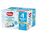 Health & Personal Care : Branded Huggies One & Done Baby Wipes, Scented (952 Ct.) (Bulk Qty at Whoesale Price, Genuine & Soft)