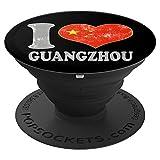 Chinese Flag I Love Guangzhou China Souv