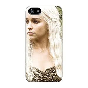 Cute Appearance Cover/tpu Emilia Clarke In Hbo Game Of Thrones Case For Iphone 5/5s