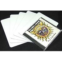 (30) White 30mil Narrow CD Jewel Box Divider Cards - 4-7/8 x 6-3/4 - CDNS68NWH30
