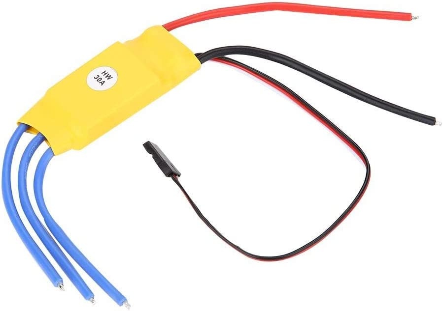 FILFEEL Speed Controller 30A Speed Controller RC ESC for Brushless Motor Part 4C