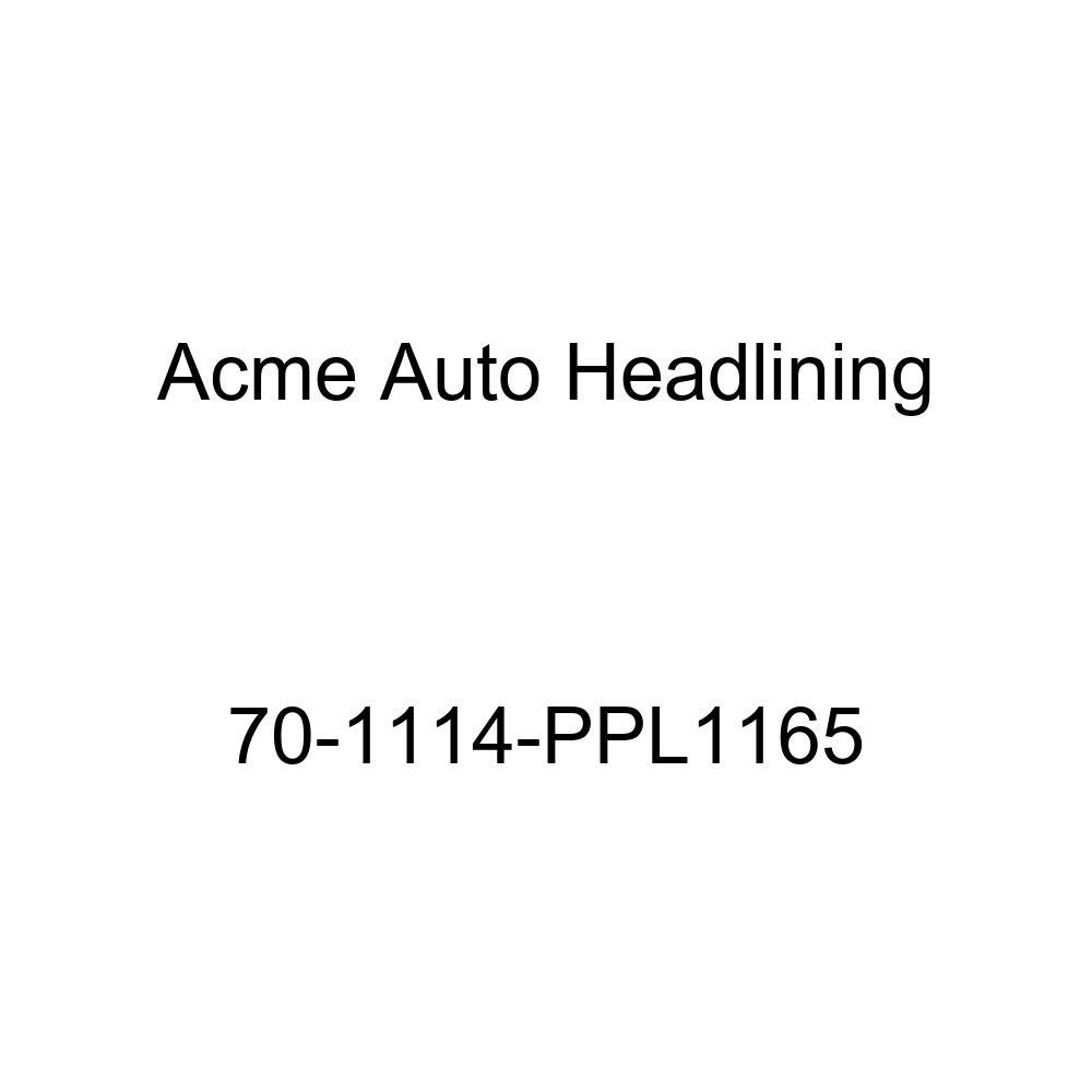 5 Bow 1970 Buick Lesabre 4 Door Hardtop Acme Auto Headlining 70-1114-PPL1165 Black Replacement Headliner