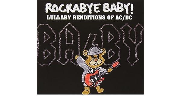 rockabye baby acdc