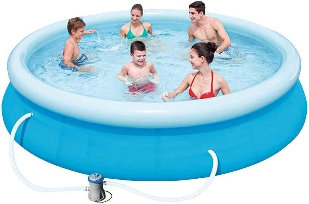 Geng Piscinas hinchables Piscinas for Adultos niños Espesado al Aire Libre Piscina for niños Adecuado For1-8 Nadie instalación: Amazon.es: Hogar