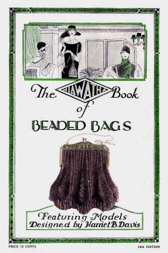 Hiawatha Beaded Bags #10 c.1927 - Vintage Patterns Knitting Beaded Purses by Iva Rose Vintage Reproductions