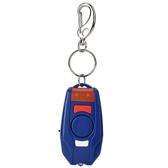 125-128dB Alarma Personal, Alarma de Llavero portátil Alarma ...