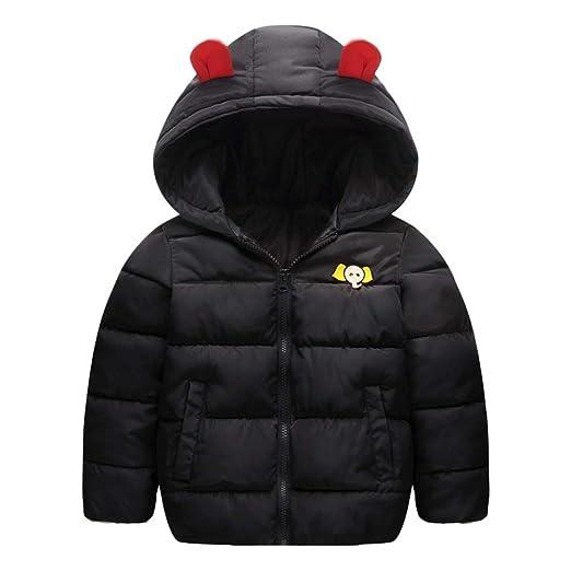 3400b966426c7 Amazon.com  WARMSHOP Children Boys Girls Hooded Outerwear