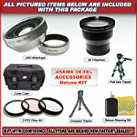 Pro 3x Telephoto Lens Kit for Canon A60 A70 A75