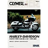Clymer #M430-4 Repair Manual For Harley-Davidson FLH & FLHR