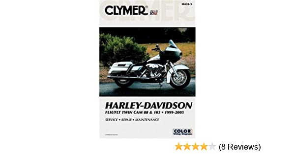 Harley Davidson Ac Wiring Diagram : Amazon clymer m repair manual for harley davidson flh