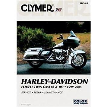 Clymer #M430-4 Repair Manual For Harley-Davidson FLH & FLHR on