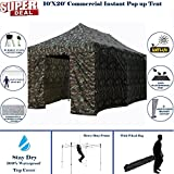 Cheap 10'x20′ Pop UP Canopy Wedding Party Tent Instant EZ Canopy Camouflage – F Model Commercial Grade Frame By DELTA