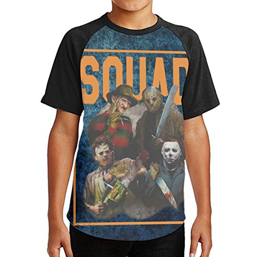 Freddy Jason Michael Myers and Leatherface Squad Youth