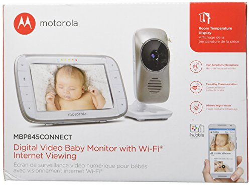 motorola mbp845connect video baby monitor with wi fi baby video monitor reviews and ratings. Black Bedroom Furniture Sets. Home Design Ideas