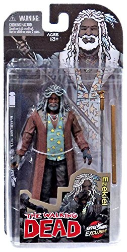 McFarlane Toys The Walking Dead Comic Book Ezekiel Action Fi