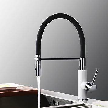 Desfau Wasserhahn Küche mit herausziehbarem Küchenarmatur ...