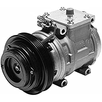 Denso 471-1223 New Compressor with Clutch