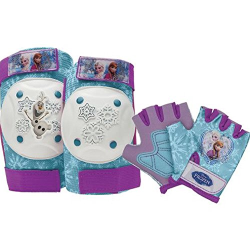 Disney Frozen Toddler Skate / Bike Helmet, Pads & Gloves - 7 Piece Set by Disney (Image #3)