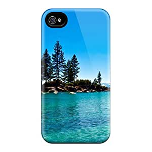 Awesome Case Cover/iphone 4/4s Defender Case Cover(lake Tahoe California)