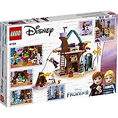 LEGO Disney Frozen II Enchanted Treehouse 41164 Toy Treehouse Building Kit featuring Anna Mini Doll and Bunny Figure for Pretend Play (302 Pieces): Toys & Games