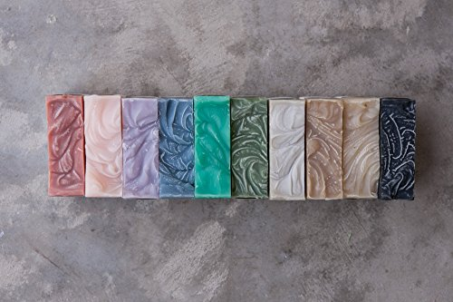 TEN Soap Bar Sampler || rainbow / gift set / natural soap / handmade bar soap / cold process soap / Charleston / soap - Charleston Market Sc