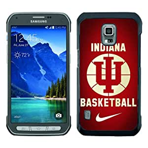 Newest Samsung Galaxy S5 Active Case ,Indiana Hoosiers Black Samsung Galaxy S5 Active Cover Case Hot Sale And Popular Designed Phone Case