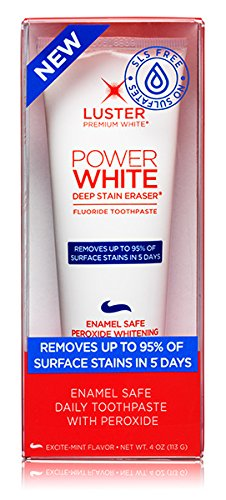 Price comparison product image Luster Deep Stain Eraser Flouride Toothpaste - 4.0 Oz - Mint