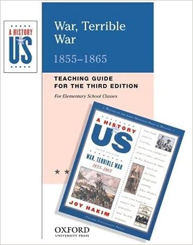 Amazon.com: War, Terrible War: Elementary Grades Teaching Guide A ...