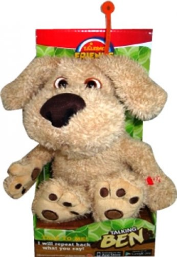Talking Ben 8 Inch Animated Soft Toy