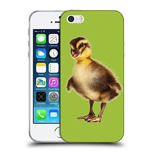 GoGoMobile Coque de Protection TPU Silicone Case pour // Q05770603 caneton verde Android // Apple iPhone 5 5S 5G SE