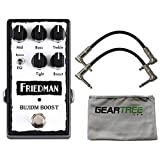 The Friedman Buxom Boost may be the most powerful tonal solution you ever put on your pedalboard. Like its namesake amp head, this pedal pushes a pure, clean signal to conjure the absolute most from your tone. Turning the boost control is your ticket...