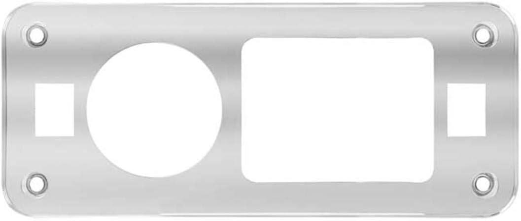 GG Grand General 67043 Chrome Plastic Ceiling Light Trim for Peterbilt 359//379 Series