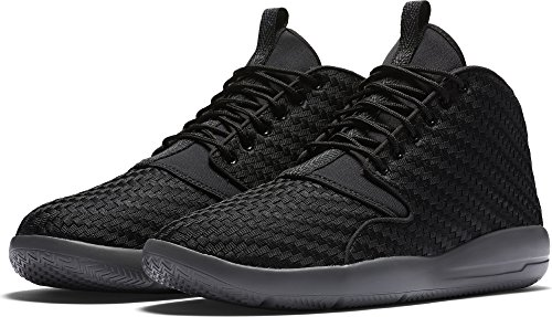Nike Jordan Men's Jordan Eclipse Chukka Black/Black Dark Grey Basketball Shoe 11 Men US