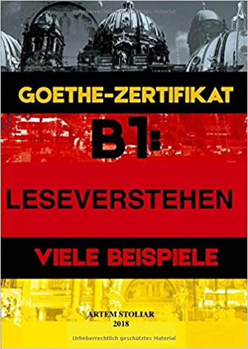 Amazoncom Goethe Zertifikat B1 Leseverstehen Viele Beispiele