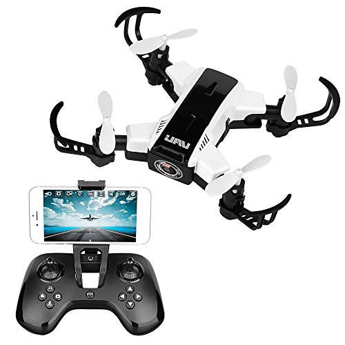 Mini RC Helicopter Drone 2.4 Ghz 4 Channels Quadcopter with FPV WiFi Camera, White