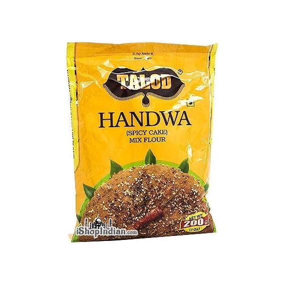 talod Gruh Udhyog Navjivan Kirana Store Present Handva Mix Flour, 200 g (Pack of 3)