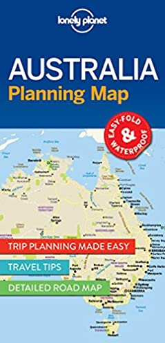 lonely planet australia planning map lonely planet 9781786579089 rh amazon com Night Sky Tonight Planning of Pregnancy