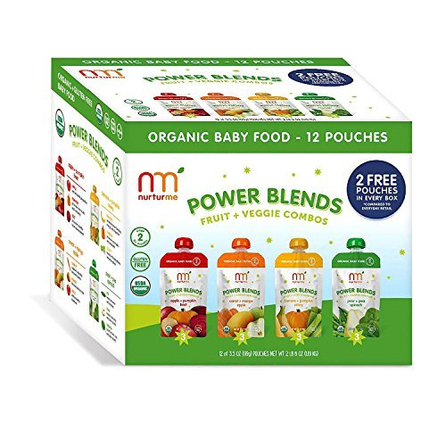 NurturMe Power Blends Fruit & Veggie Combos (3.5 oz., 12 ct.) by NurturMe