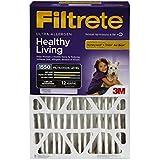 Filtrete Healthy Living Ultra Allergen Filter, MPR 1500, 20-Inch x 25-Inch x 5-Inch (4-7/8-Inch Depth)