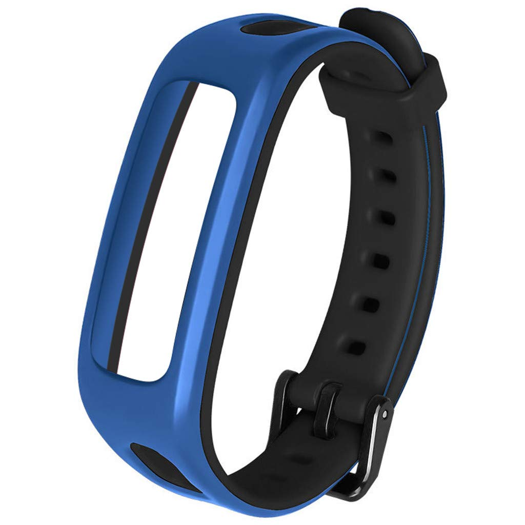 for Huawei Honor 4 Watch Band Bracelet Replacement Sport Silicone Strap Wirstband Bands for Huawei Honor 4 Smart Watch (E)