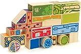 Hape Eco-Blocks Kid's Bamboo Stacking Toy