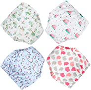 MooMoo Baby Cotton Training Pants Reusable Potty Training Underwear for Toddler Girls 4T