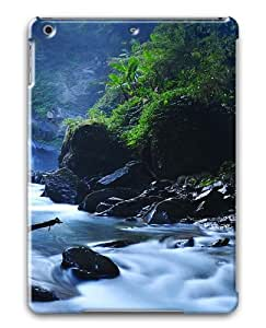 Beautiful Taiwan Forest Waterfalls Custom Apple iPad Air/ iPad 5th Generation Case Cover ¨C Polycarbonate