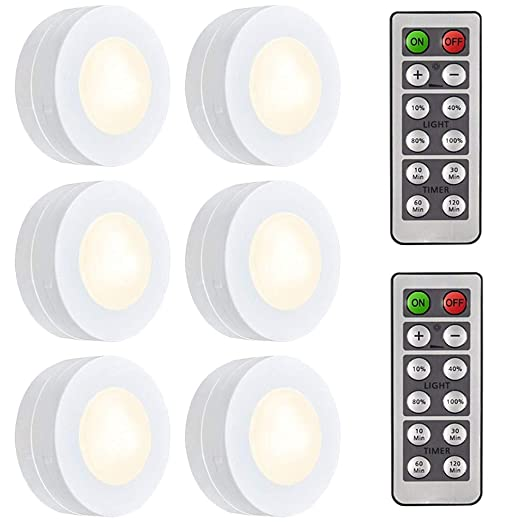 Salking Led Under Cabinet Lightingwireless Night Light With Remote
