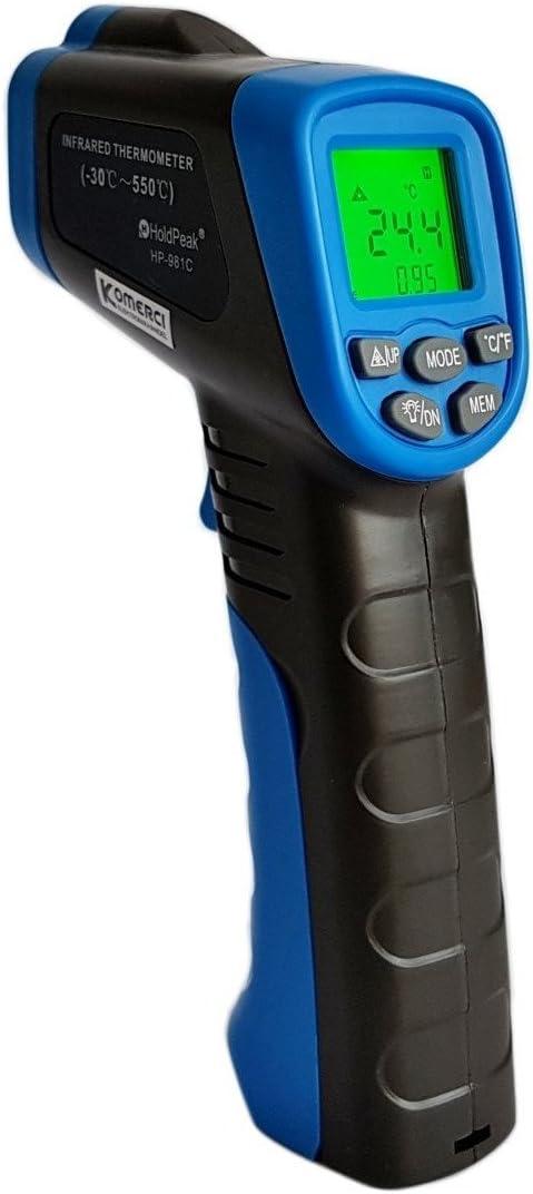 Holdpeak Hp 981c Infrarot Thermometer 30 Bis 550 C Elektronik