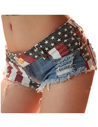 Robiear Shorts Jeans Pants Denim
