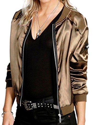 Vian Lundgaard - Chaqueta - Opaco - para mujer dorado