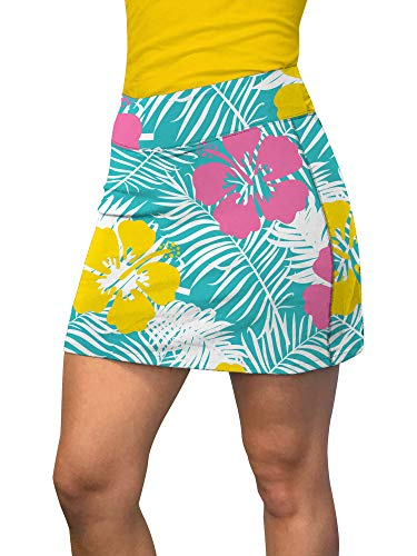 Loudmouth Golf Castaway StretchTech Active Skorts S