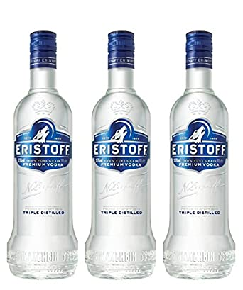 Eristoff Wodka (3 x 1 l): Amazon.de: Bier, Wein & Spirituosen